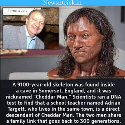 9100 year old skeleton found in England