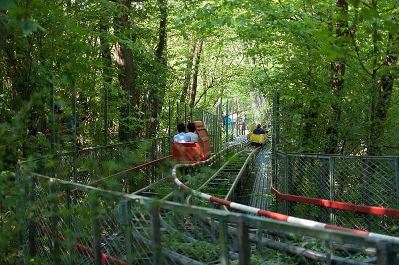 Ai Pioppi: Un parque de atraccion hecho por una sola persona | Italia