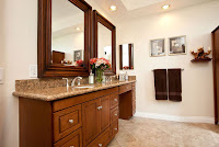 Traditional Universal Design Bathroom Double Vanity by One Week Bath