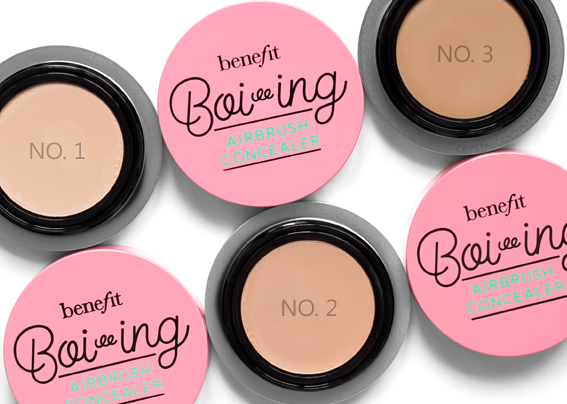 Benefit Boi-ing Airbrush Concealers Review No. 1 2 3
