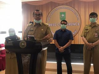 Update 30 maret, Pasien Postitif Covid-19 di Riau ke 3 warga duri