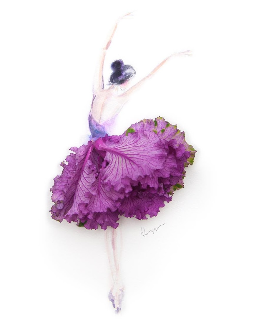 03-Dance-Limzy-Real-Flowers-in-Drawings-of-Dresses-www-designstack-co