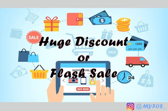 Huge Discount 99% Vs Flash Sale Rp.1