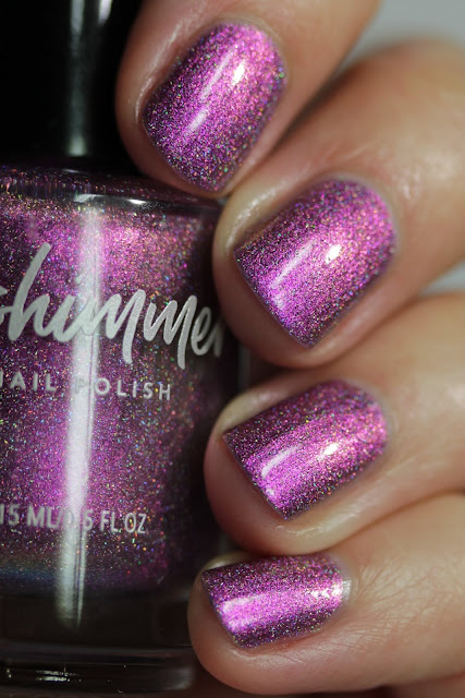 KBShimmer Trend Sweater swatch by Streets Ahead Style