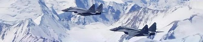 IAF Shares MiG-29 Upgrade Pictures From Deployment In Ladakh; Watch Them Soar