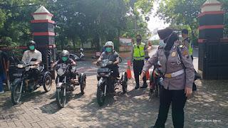 Satlantas Polrestabes Semarang Berikan Pelatihan Gratis Kepada Disfabel