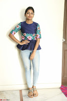 Eesha Looks super cute stunning in Denim Jeans and Top at Darsakudu movie Inerview ~  Exclusive 014.JPG