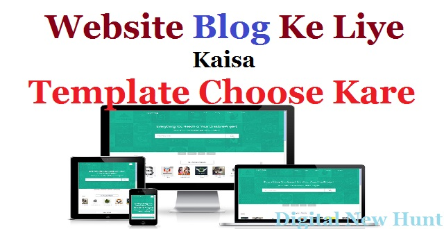 best template for blog website