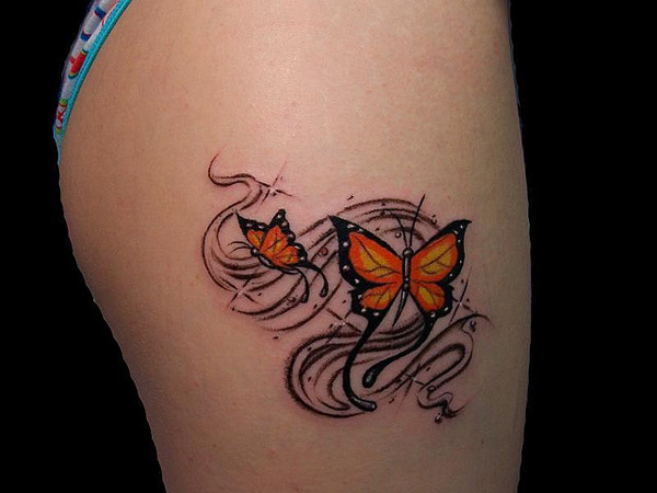 a76366ba5 55 Ideias De Tatuagens Para As Coxas Assuntos Criativos