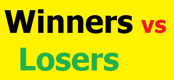 Winners vs Losers: Mindset to reach your goals