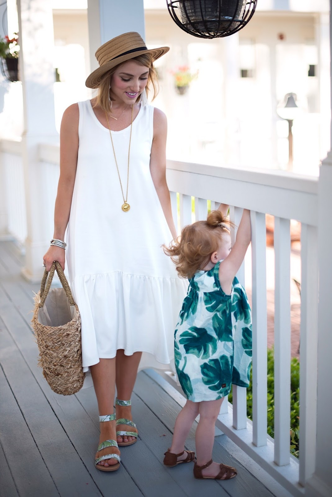 Mommy and me outfits + $200 Nordstrom gift card Mother's Day giveaway! - Click through to see more on Something Delightful Blog!