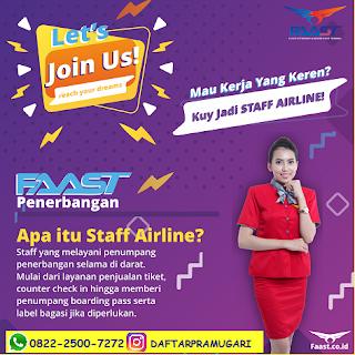Staff Penerbangan - Pengertian Tugas & Apa Pekerjaannya?