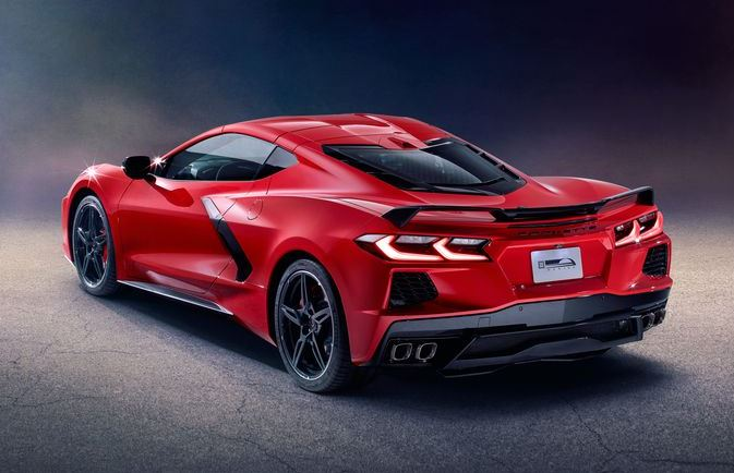 2020 Chevrolet Corvette C8 Rear View
