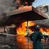Breaking News: Filling station on fire in Ikosu-Ketu Lagos