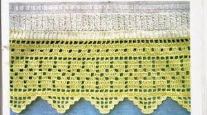 Patrones crochet de 5 puntillas para decoración
