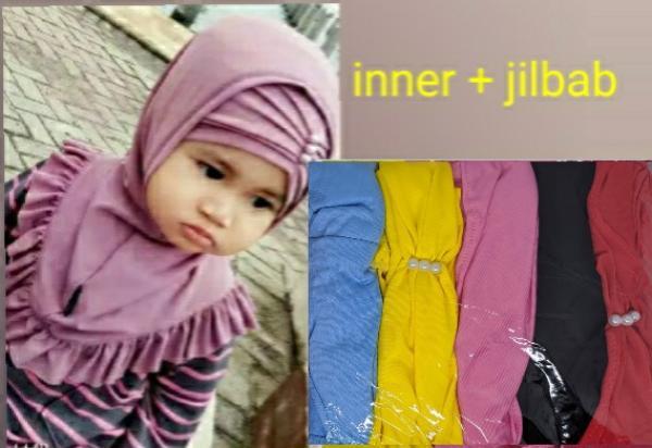 Jilbab Bayi + Inner FA-112