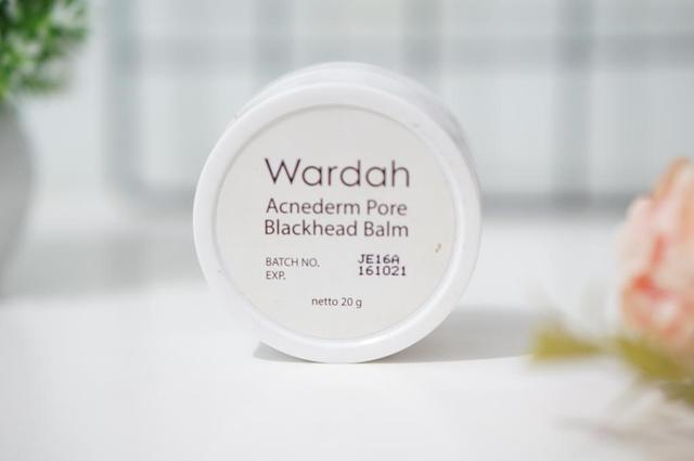 kemasan wardah blackhead balm