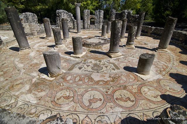 Mosaico de Butrint - Albania por El Guisante Verde Project