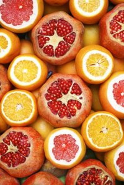 Close up of fruit in a box