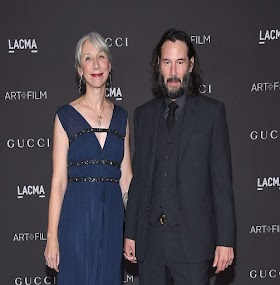 Keanu Reeves Holds Hands With Maybe Girlfriend Alexandra Grant