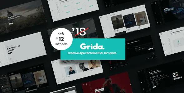 Creative Agency Ajax Portfolio and personal HTML Template