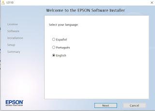 epson l3110 driver installation
