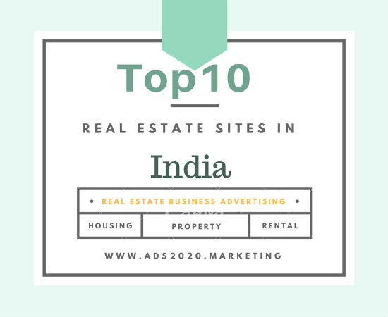 Top10 real estate advertising sites in India for agents buyers sellers-550x440