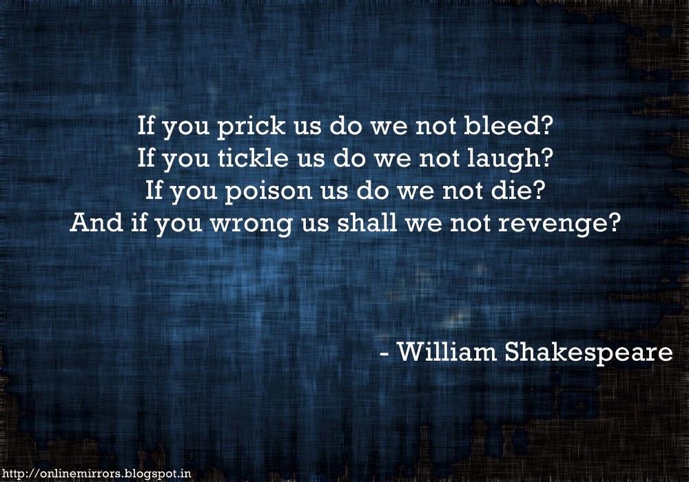 Shakespeare Quotes On Revenge. QuotesGram