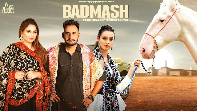 Badmash Song Lyrics | Rabby Brar | Gurlej Akhtar | Latest Punjabi Songs 2020 | Jass Records Lyrics Planet