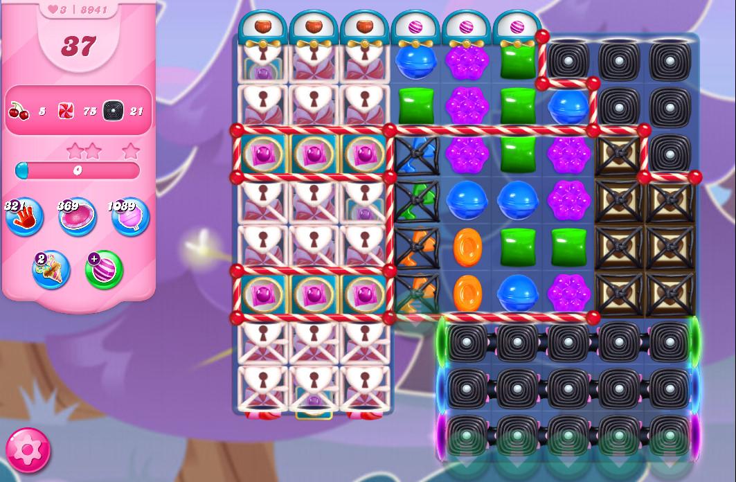 Candy Crush Saga level 8941