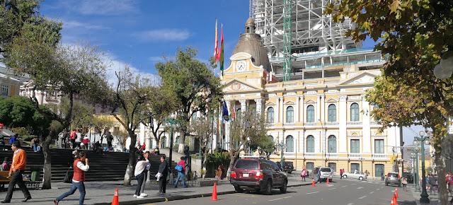 Edificio de la Asamblea Legislativa en La Paz, en Bolivia.ONU/Bolivia/Hasan López