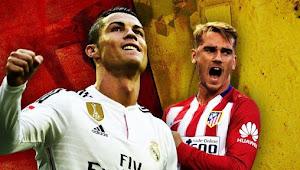 Prediksi Bola Atletico Madrid vs Real Madrid 19 November 2017