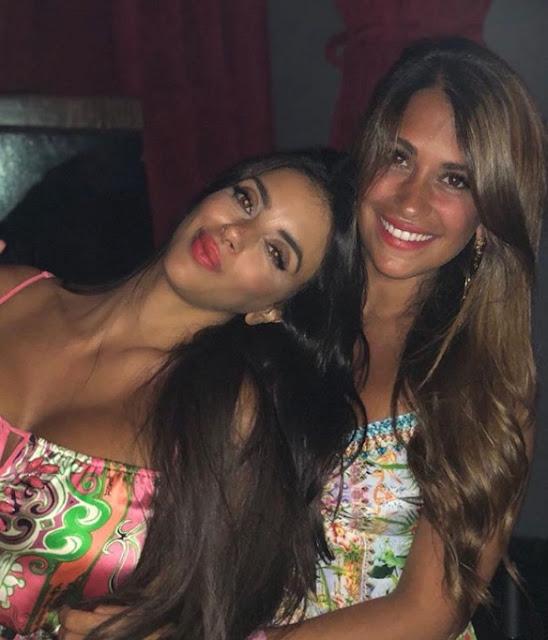 Antonella Roccuzzo y Daniella Semaan