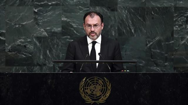 México asegura desde ONU que apoyará a sus compatriotas en EEUU