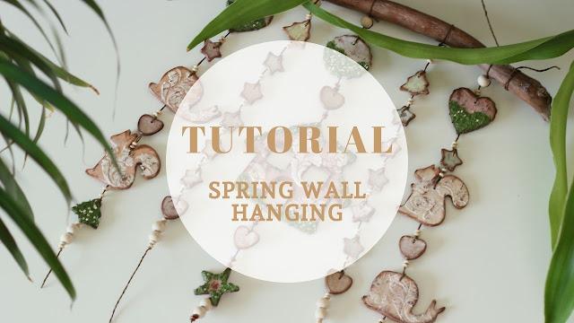 spring wall hanging