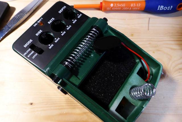 Behringer UV300 speed mod