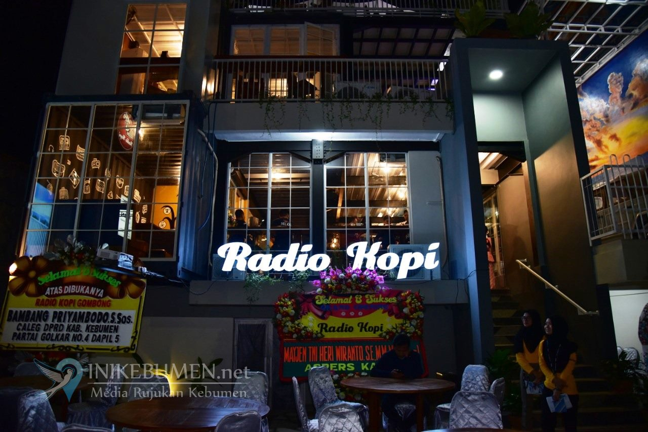 Radio Kopi, Tempat Nongkrong Asyik di Kota Gombong