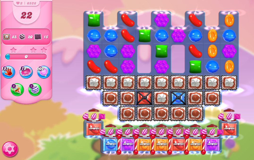 Candy Crush Saga level 6528