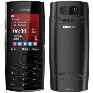 Spesifikasi Handphone Nokia X2-05