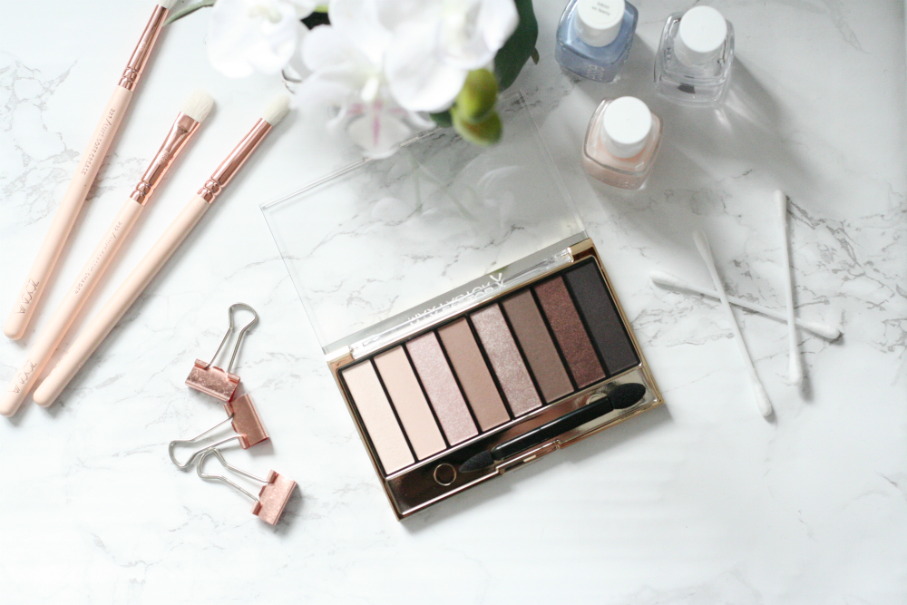 Review, Max Factor Masterpiece Nude Palette in Cappuccino Nudes