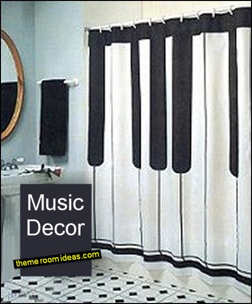 piano decor piano curtains piano shower curtains piano bedroom decor
