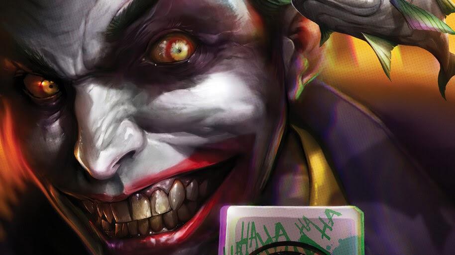Joker, Smile, DC, Comics, 4K, #6.2020