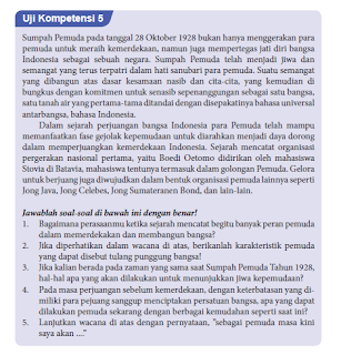 Soal dan Jawaban Uji Kompetensi 5 PKN Kelas 8