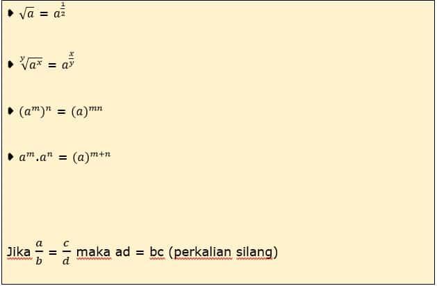 Jenis Persamaan 5