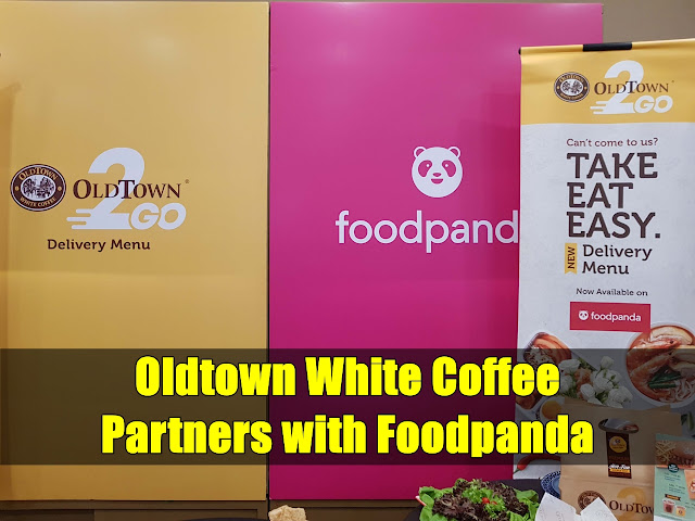 Oldtown White Coffee Partners with Foodpanda