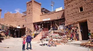 kasbah de Taourirt, Ouarzazate.