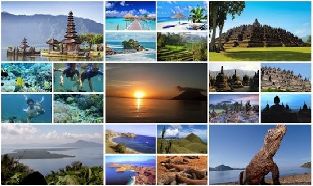 18 tempat wisata alam di indonesia yang Terkenal di dunia