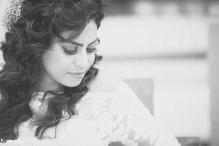 Bride of Sri Lanka Black and white