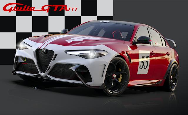 F1 Pilotları Räikkönen ve Giovinazzi Yeni Alfa Romeo Giulia GTA'yı Test Etti!