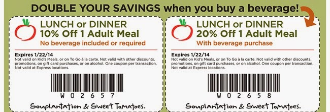 photograph relating to Souplantation Printable Coupons called Lovable tomatoes coupon codes january 2019